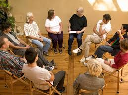 Group therapy and Brainspotting